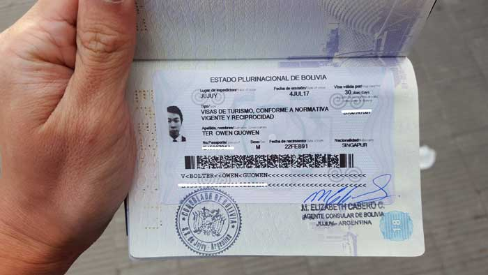 Getting A Bolivian Visa From Cusco Peru All You Need To Know 5923651